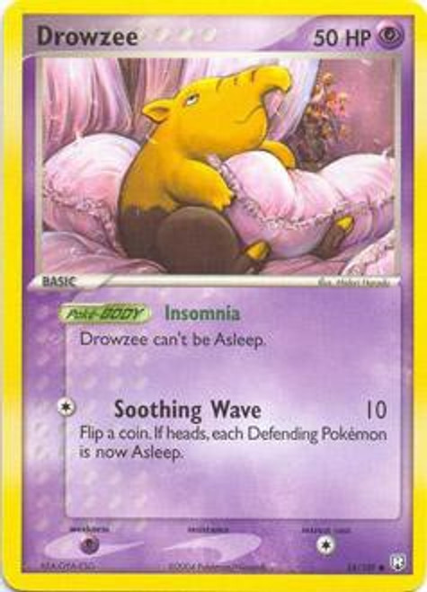 Pokemon EX Team Rocket Returns Common Drowzee #54