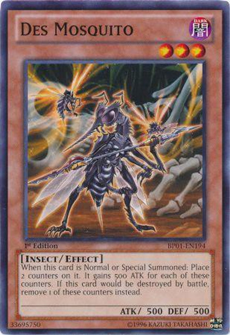 YuGiOh Battle Pack: Epic Dawn Common Des Mosquito BP01-EN194