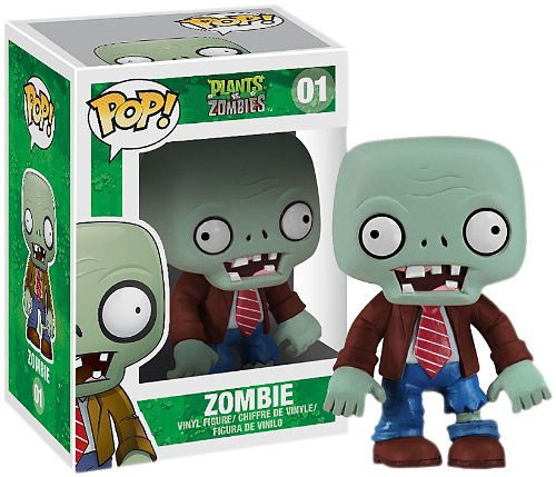 Funko Plants vs. Zombies POP! Games Zombie Vinyl Figure #01
