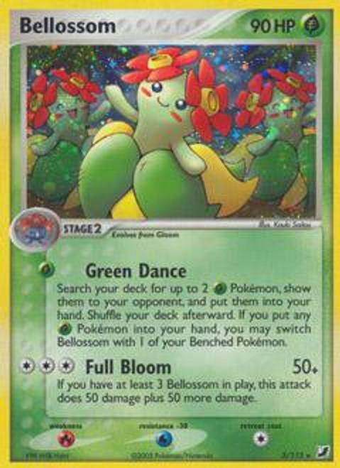 Pokemon EX Unseen Forces Rare Holo Bellossom #3