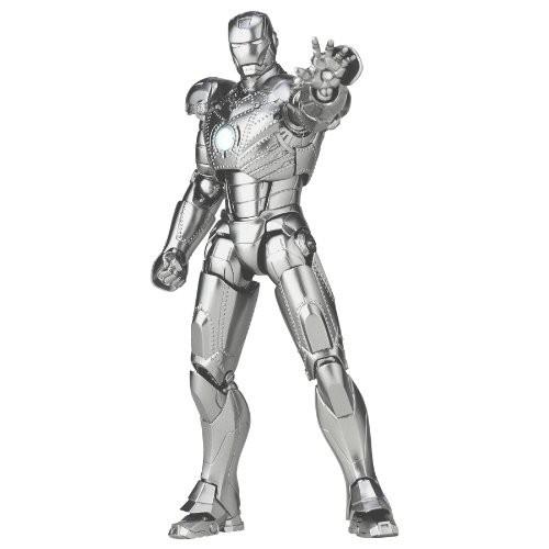 Marvel Sci-Fi Revoltech Iron Man Super Poseable Action Figure #035 [Mark II]