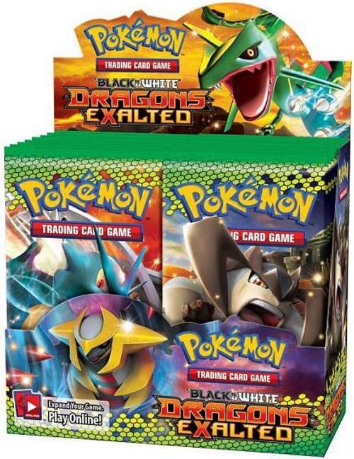 Pokemon Trading Card Game Black & White Dragons Exalted Booster Box [36 Packs]