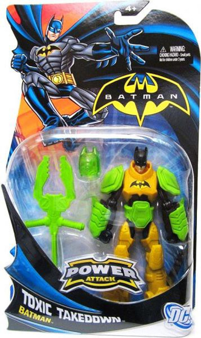 Power Attack Batman Action Figure [Toxic Takedown]