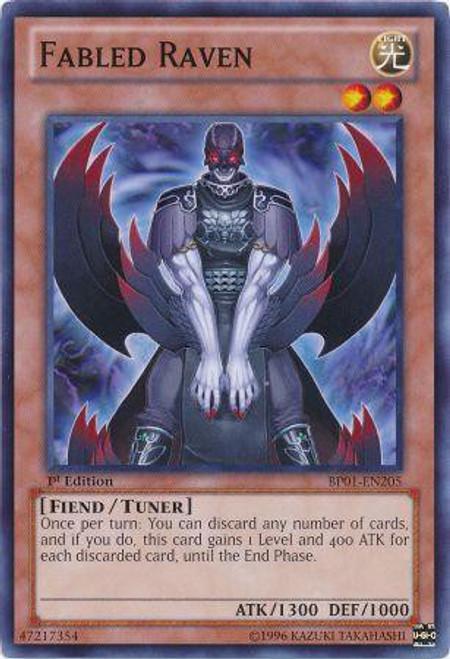 YuGiOh Battle Pack: Epic Dawn Common Fabled Raven BP01-EN205