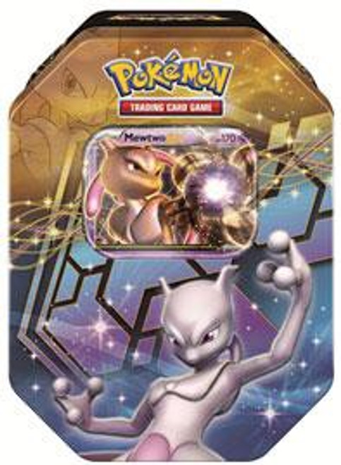 Pokemon Trading Card Game 2012 Black & White Legendary EX Mewtwo Tin Set [4 Booster Packs & Promo Card]