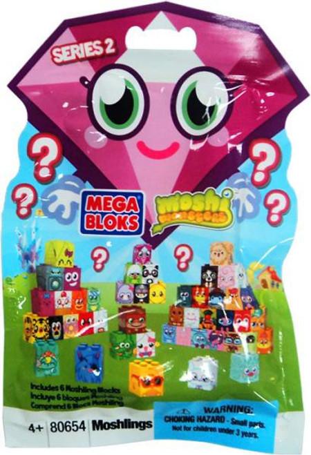 Mega Bloks Moshi Monsters Mini Figure Series 2 Mystery Pack #80654