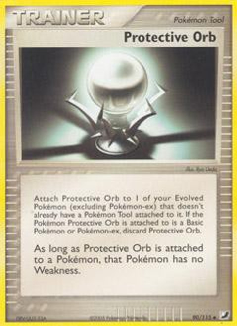 Pokemon EX Unseen Forces Uncommon Protective Orb #90