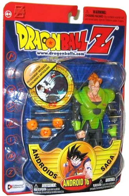 Dragon Ball Z Series 6 Androids Saga Android 16 Action Figure