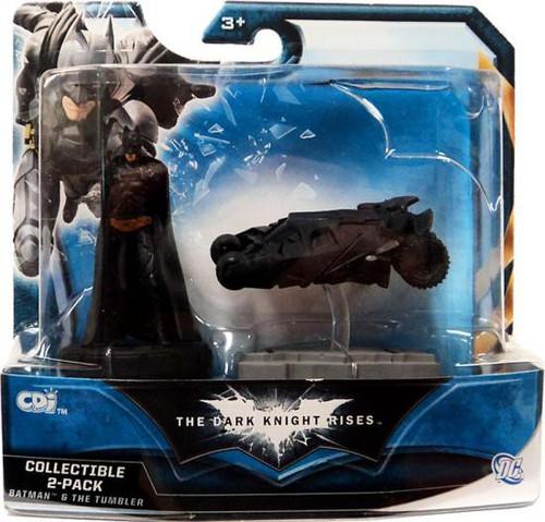 The Dark Knight Rises Batman & The Tumbler Mini Figure 2-Pack