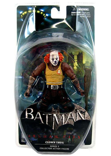 Batman Arkham City Series 3 Clown Thug Action Figure [Orange Hair]