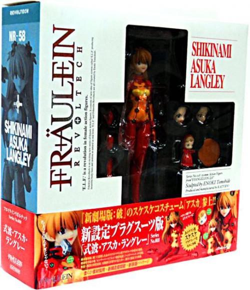 Neon Genesis Evangelion Fraulein Revolution Revoltech Shikinami Asuka Langley Action Figure #018