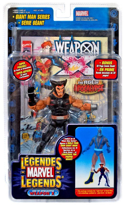 Marvel Legends Giant Man Build A Figure Age of Apocalypse Weapon X Wolverine Exclusive Action Figure