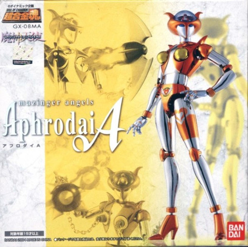 Soul of Chogokin Mazinger Angels Aphrodai A Diecast Action Figure GX-08MA
