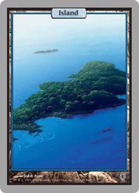 MtG Unhinged Basic Land Foil Island Random Artwork