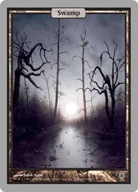 MtG Unhinged Basic Land Swamp #138