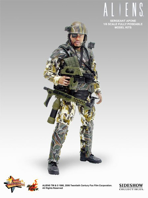 Aliens Movie Masterpiece Sergeant Apone Collectible Figure