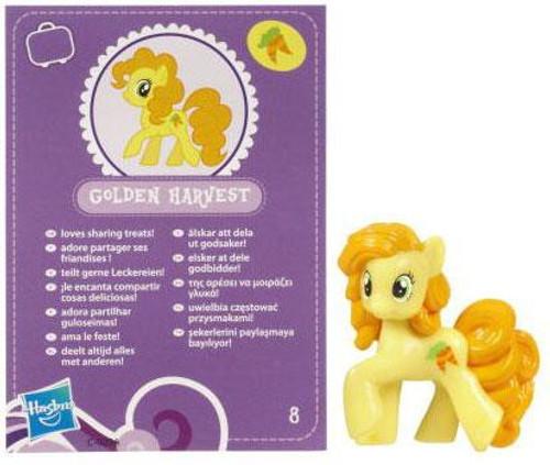 My Little Pony Series 2 Golden Harvest 2-Inch PVC Figure [Carrot Top]