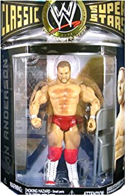 WWE Wrestling Classic Superstars Series 12 Arn Anderson Action Figure