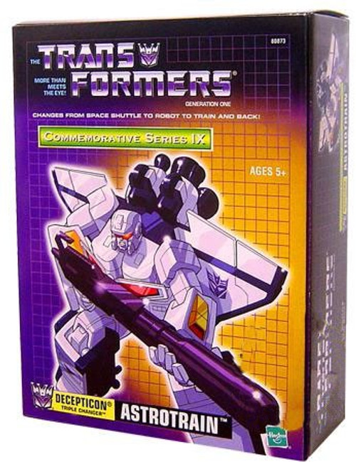 Transformers Generation 1 Commemorative Series IX Astrotrain Exclusive Action Figure