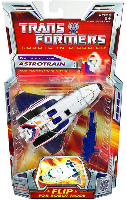 Transformers Robots in Disguise Classics Deluxe Astrotrain Deluxe Action Figure