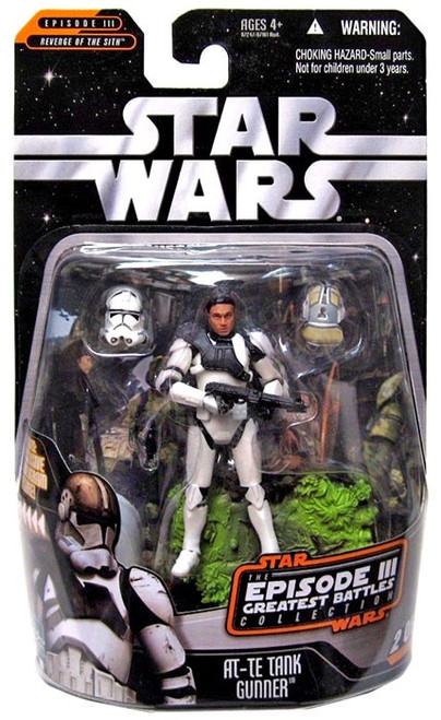 Star Wars Revenge of the Sith Episode III Greatest Battles 2006 AT-TE Gunner Action Figure #2 of 14