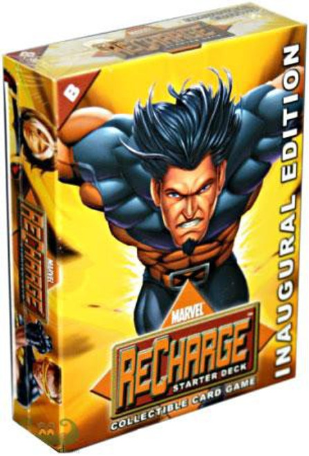 Marvel Collectible Card Game Recharge Wolverine Starter Deck