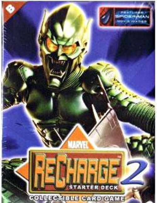 Marvel Collectible Card Game Recharge 2 Green Goblin Starter Deck