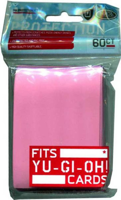 Card Supplies Flat Pink Small Card Sleeves [60 Count]
