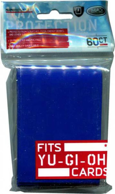 Card Supplies Flat Blue Small Card Sleeves [60 Count]