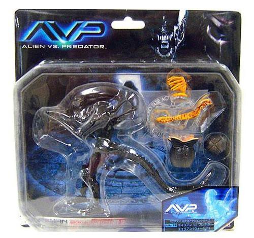 Alien vs Predator Micromen Alien Warrior Microman MA-13 Action Figure