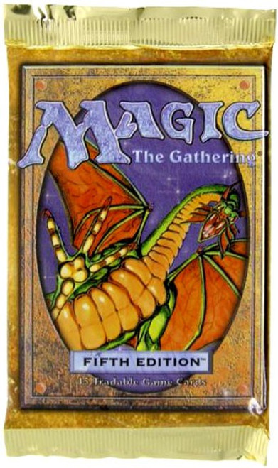 MtG Trading Card Game 5th Edition Booster Pack [15 Cards]