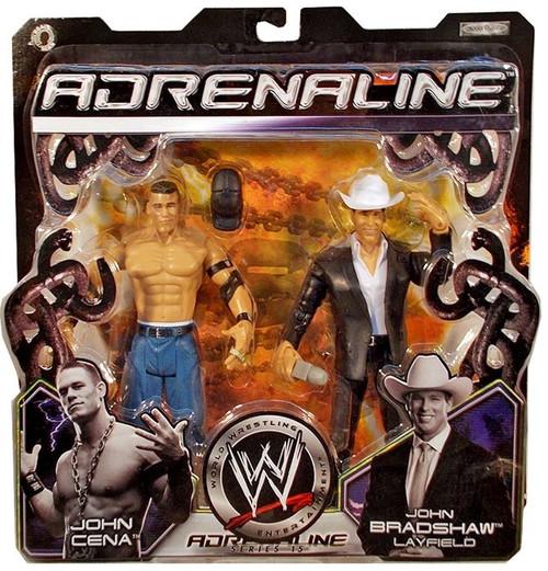 WWE Wrestling Adrenaline Series 15 John Cena Vs. JBL Action Figure 2-Pack