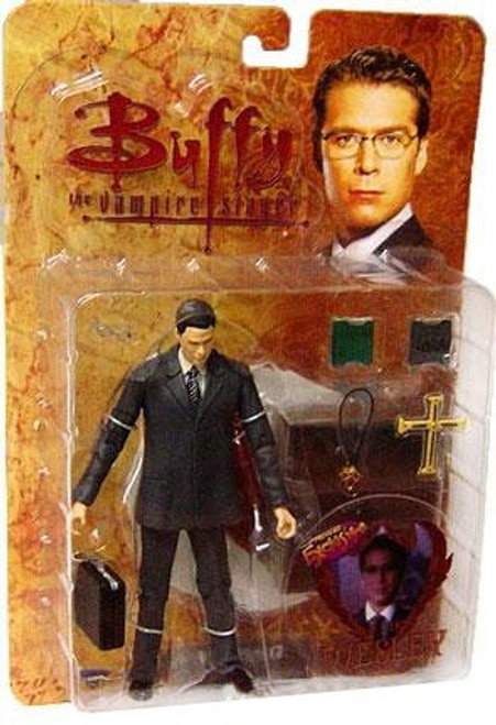 "Buffy The Vampire Slayer Series 3 Wesley Action Figure [""Bad Girls""]"