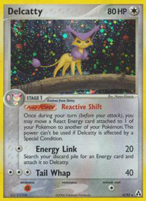 Pokemon EX Legend Maker Rare Holo Delcatty #4