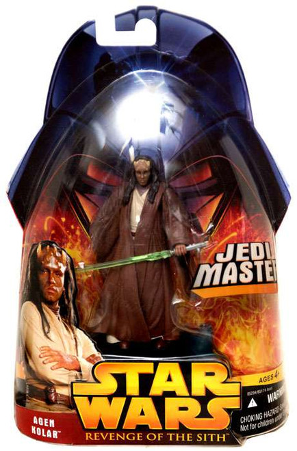 Star Wars Revenge of the Sith 2005 Agen Kolar Action Figure #20