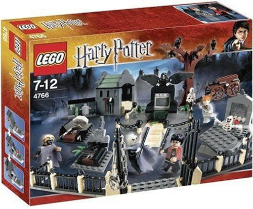 LEGO Harry Potter Series 1 Goblet of Fire Graveyard Duel Set #4766