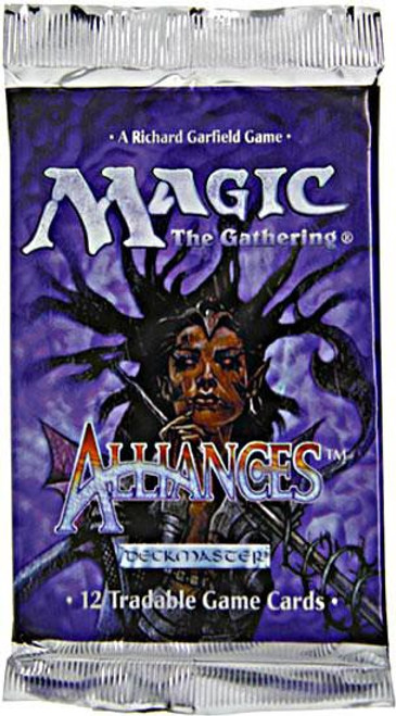 MtG Trading Card Game Alliances Booster Pack