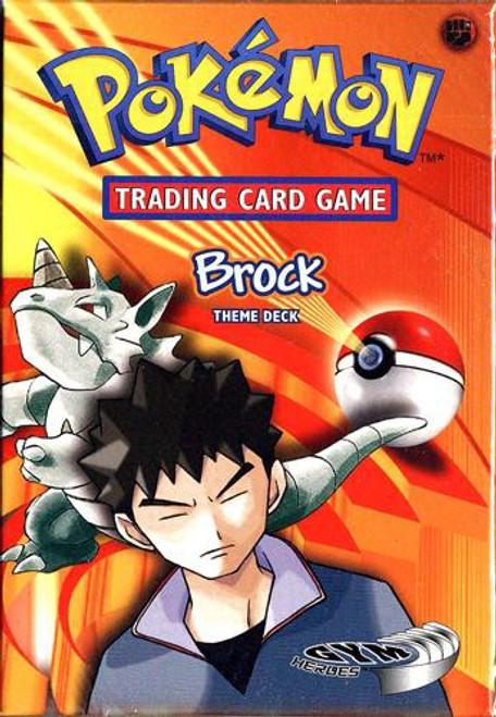 Pokemon Gym Heroes Brock Theme Deck