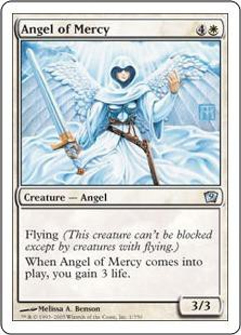 MtG 9th Edition Uncommon Angel of Mercy #1