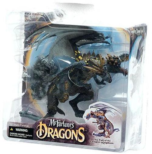 McFarlane Toys Dragons The Fall of the Dragon Kingdom Series 4 Berserker Dragon Clan 4 Action Figure
