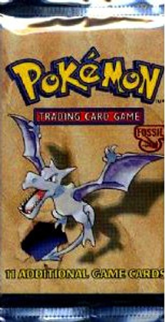 Pokemon Trading Card Game Fossil Booster Pack [11 Cards]