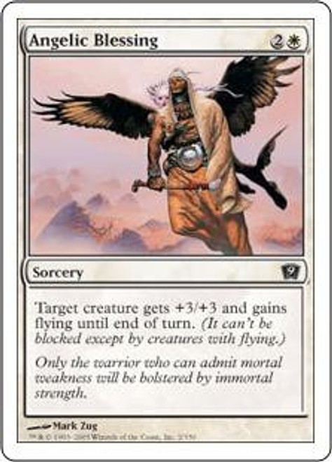 MtG 9th Edition Common Angelic Blessing #2