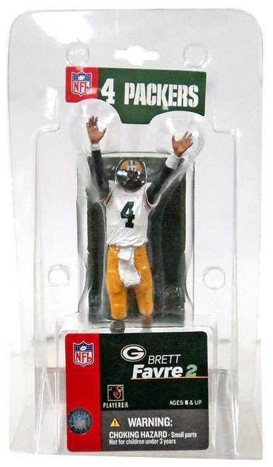 McFarlane Toys NFL Green Bay Packers Sports Picks 3 Inch Mini Brett Favre Mini Figure [White Jersey]