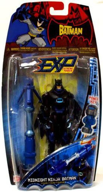 The Batman EXP Extreme Power Batman Action Figure [Midnight Ninja]