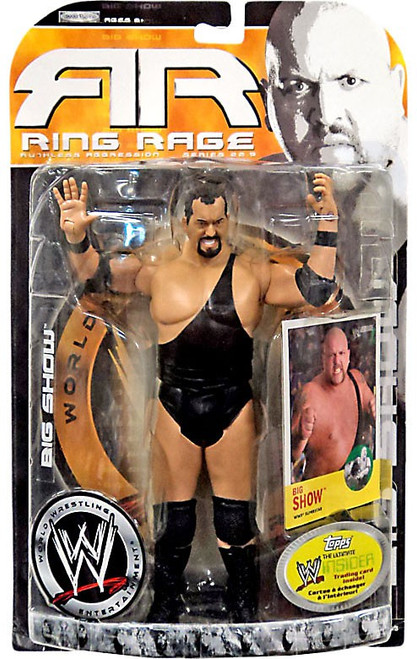 WWE Wrestling Ruthless Aggression Series 22.5 Ring Rage Big Show Action Figure