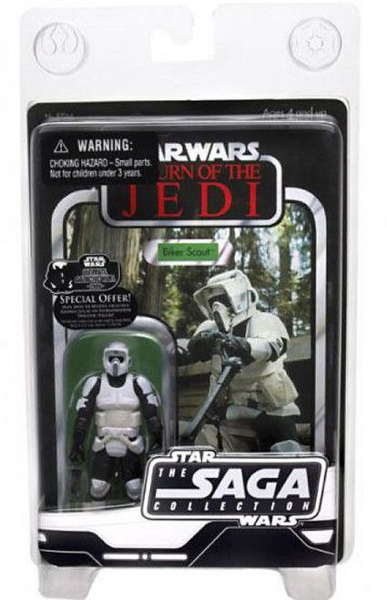Star Wars Return of the Jedi 2006 Vintage Saga Collection Biker Scout Action Figure