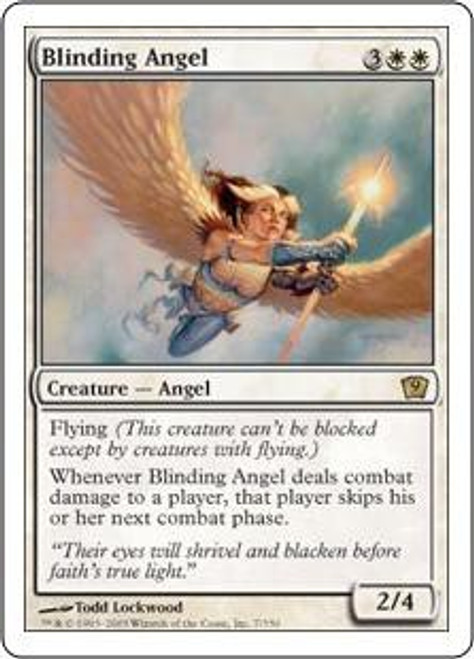 MtG 9th Edition Rare Blinding Angel #7
