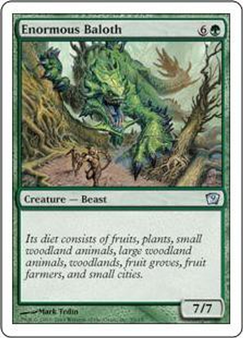 MtG 9th Edition Uncommon Enormous Baloth #9