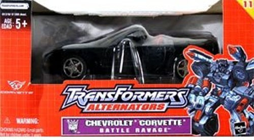 Transformers Alternators Chevrolet Corvette Battle Ravage Action Figure