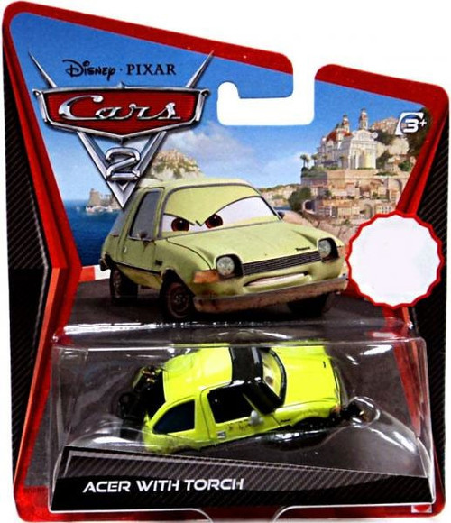 Disney / Pixar Cars Cars 2 Main Series Acer with Blow Torch Exclusive Diecast Car